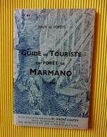 Guide Du Touriste En Forêt De MARMANO (Corse)- N° 44 - Eaux Et Forêts - Tourism