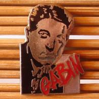 Joli Pin's Thème Cinéma, Jean Gabin, émail Grand Feu, Corner, TBQ, Pins Pin. - Cinema