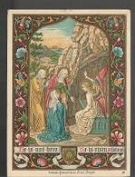 10 04/ E/  DEVOTIEPRENTJE  LITHO    8/12 CM - Religione & Esoterismo