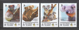 Solomon Islands - MNH Set KOALA BEARS - Beren