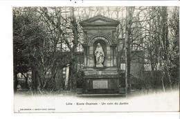 CPA - Carte Postale-France-Lille - Ecole Ozanam Un Coin Du Jardin 1907VM30163 - Lille