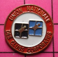 712d Pin's Pins / Beau Et Rare / THEME : SPORTS / UNION NATIONALE DES CLUBS CORPORATIFS - Other