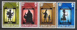 Caimans N° 360/63 YVERT NEUF * - Iles Caïmans