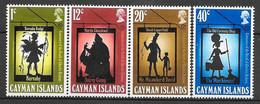 Caimans N° 360/63 YVERT NEUF * - Cayman Islands