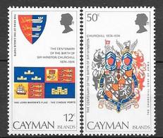 Caimans N° 350/51 YVERT NEUF * - Cayman Islands