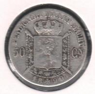 LEOPOLD II * 50 Cent 1899 Vlaams * Z.Fraai * Nr 10337 - 06. 50 Centiem