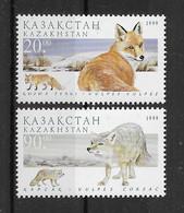 Kasachstan 1999 Hunde/Dogs Mi.Nr. 264/66 ** - Kazakhstan