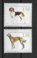Kasachstan 2005 Hunde/Dogs Mi.Nr. ? 2 Werte ** - Kazakhstan