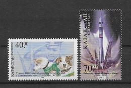 Kasachstan 2001 Hunde/Dogs Mi.Nr. 308/09 ** - Kazakhstan