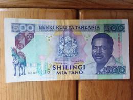 Billet De Tanzanie - Tanzania