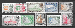 Zanzibar N° 226/35 YVERT NEUF * - Zanzibar (1963-1968)