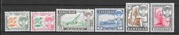 Zanzibar N° 241/44 248 250 YVERT NEUF * - Zanzibar (1963-1968)