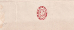 URUGUAY    ENTIER POSTAL/GANZSACHE/POSTAL STATIONARY  BANDE JOURNAL - Uruguay