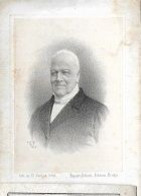10 04/ H/ ° BRUGGE 1780 + 1866   PRESIDENT TRIBUNAL DE COMMERCE + ECHEVIN DE BRUGES J VAN DER HOFSTADT   Lith V.LOO - Religione & Esoterismo