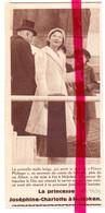 Orig. Knipsel Coupure Tijdschrift Magazine - Hoboken - Visite Princesse Josephine Charlotte - 1939 - Non Classificati