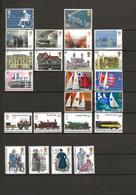 Groot Brittannië, 1975, Turner, Gebouwen, Sailing, Public Railways, Jane Austen, MH !! - Ungebraucht