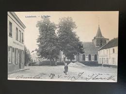 Linkebbek. L'église. Au Mouton Estaminet Restaurant - Linkebeek