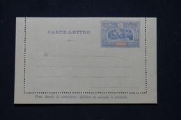 OBOCK - Entier Postal ( Carte Lettre ) Type Guerriers, Non Circulé - L 95348 - Lettres & Documents