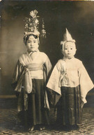 JEUNES ENFANTS  JAPONAIS PHOTO ORIGINALE 11 X 7.50 CM - Personas Anónimos