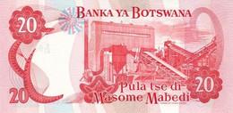 BOTSWANA P. 18a 20 P 1997 UNC - Botswana