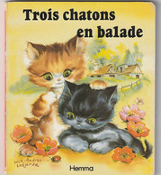TROIS CHATONS EN BALLADE . ILLUSTRATRICE LUCE ANDREE LAGARDE ......SCANNE EN TOTALITE - Other