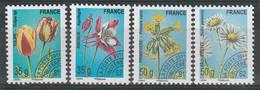 FRANCE - Préoblitérés - N°259/62 ** (2011) Fleurs - 1989-....