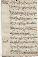 1V3Gp  Manuscrit Déliberation Conseil Arrondissement De Grasse Gelée Des Fruitiers Et Oliviers 02/1820 Déscription - Manuscripts