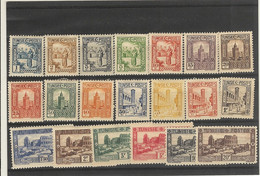 Tunisie- (1931)   -  Série N°160 /179 - Unclassified