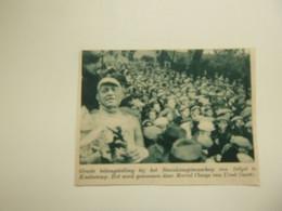 """Origineel Knipsel ( D 58 ) Uit Tijdschrift """" De Stad """" 1937 :   Wielerkoers  Renner   Coureur  Koolskamp - Zonder Classificatie"""