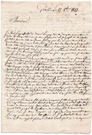 1V3Gp  Manuscrit Courrier De 1813 à Grasse De Mr Bayle à MrLaure - Manuscripts