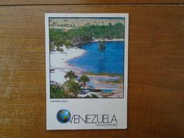 """Venezuela , Laguna Azul , Blue Lagoon """""""""""" Beau Timbre """""""" - Venezuela"""