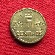 Peru 5 Centimos 1995 KM# 304.1  Perou - Peru