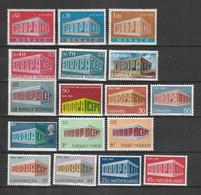 Europa (CEPT) - Lot Ausgabe 1969 Verschiedener Laender ** (2086) - Lots & Kiloware (mixtures) - Max. 999 Stamps