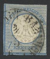 Germany, 7 Kr. 1872, Sc # 10, Mi # 10, Used., - Gebraucht