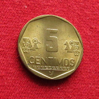 Peru 5 Centimos 2002 KM# 304.4  Perou - Peru