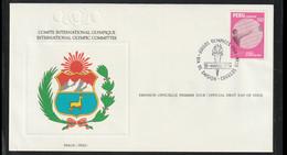 Peru FDC 1984 Los Angeles Olympic Games (LG16) - Summer 1984: Los Angeles