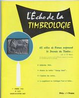"""Timbrologie.Collection Des Timbres Préoblitérés De France.Timbres """" Annulés """" Préoblitérés.chronique Poste Aérienne. - Francesi (dal 1941))"""