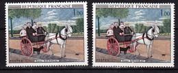 France 1517 Variété Tableau Visages Blanc  Et Normal Rousseau Neuf ** TB MNH Sin Charnela - Varieties: 1960-69 Mint/hinged