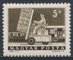 Hungary Ungarn 1964 Mi 2013 A YT 1573 SG 1917 **  Postverladung / Railway Fork-lift Truck / Wagon Poste - Post