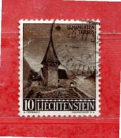 Liechtenstein ° - 1957 - NATALE, La CAPPELLA  Unif.. 324. - Gebraucht
