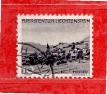 Liechtenstein ° - 1944 - PAESAGGI.  Zum. 190. Usato - Gebraucht