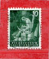 Liechtenstein ° - 1951 - VITA CONTADINA.  Zum. 237. Usato - Gebraucht