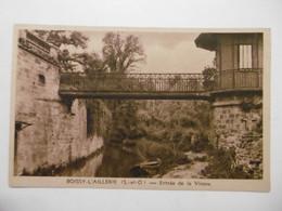 BOISSY-L'AILLERIE Entrée De La Viosne - 95 VAL D'OISE - Boissy-l'Aillerie