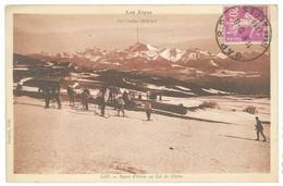 Cpa GAP - Sport D'hiver Au Col De Glaise ( Ski, Skieurs ) - Gap