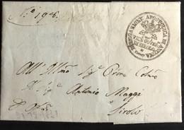 1831 SIROLO X CITTA' - 1. ...-1850 Prephilately