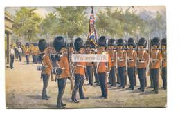 The Grenadier Guards At Wellington Barracks, London - Harry Payne - Old Tuck Postcard No. 9081 - Regimientos