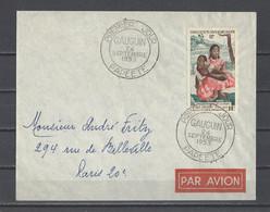 OCEANIE.  YT   PA N° 30  Oblitération 1er Jour  1953 - Lettres & Documents