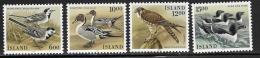 Iceland, Scott # 618-21 MNH Birds, 1986 - Ungebraucht