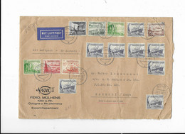 Lettre Par Avion - KÖLN A. Rh. ( Germany ) Vers NAIROBI ( Kenya ) 1938 - Lettres & Documents