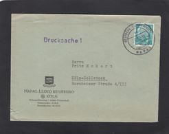 DEUTSCHE SEEPOST HAPAG-LLOYD. BRIEF MIT INHALT. - Covers & Documents
